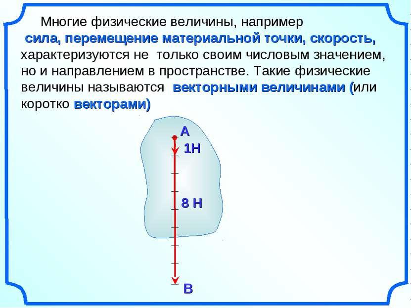 Многие физические величины, например сила, перемещение материальной точки, ск...