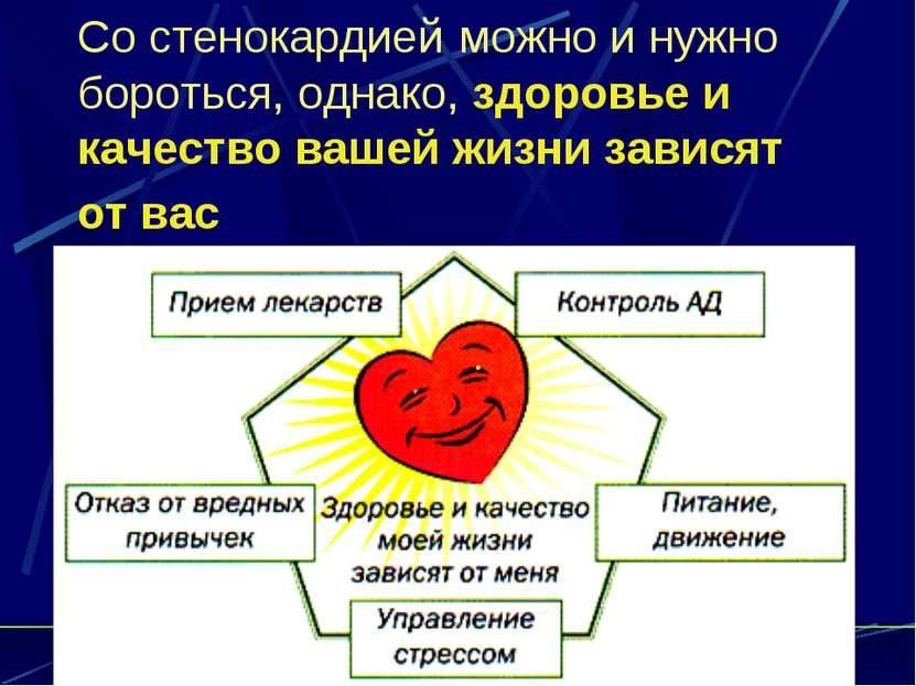 Со стенокардией можно и нужно бороться, однако, здоровье и качество вашей жиз...