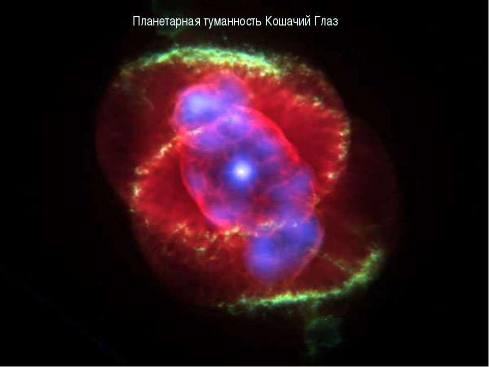 Планетарная туманность Кошачий Глаз