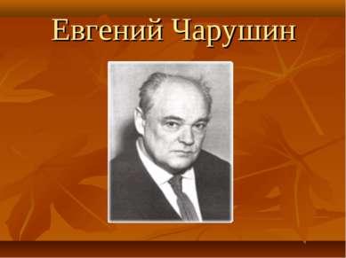 Евгений Чарушин