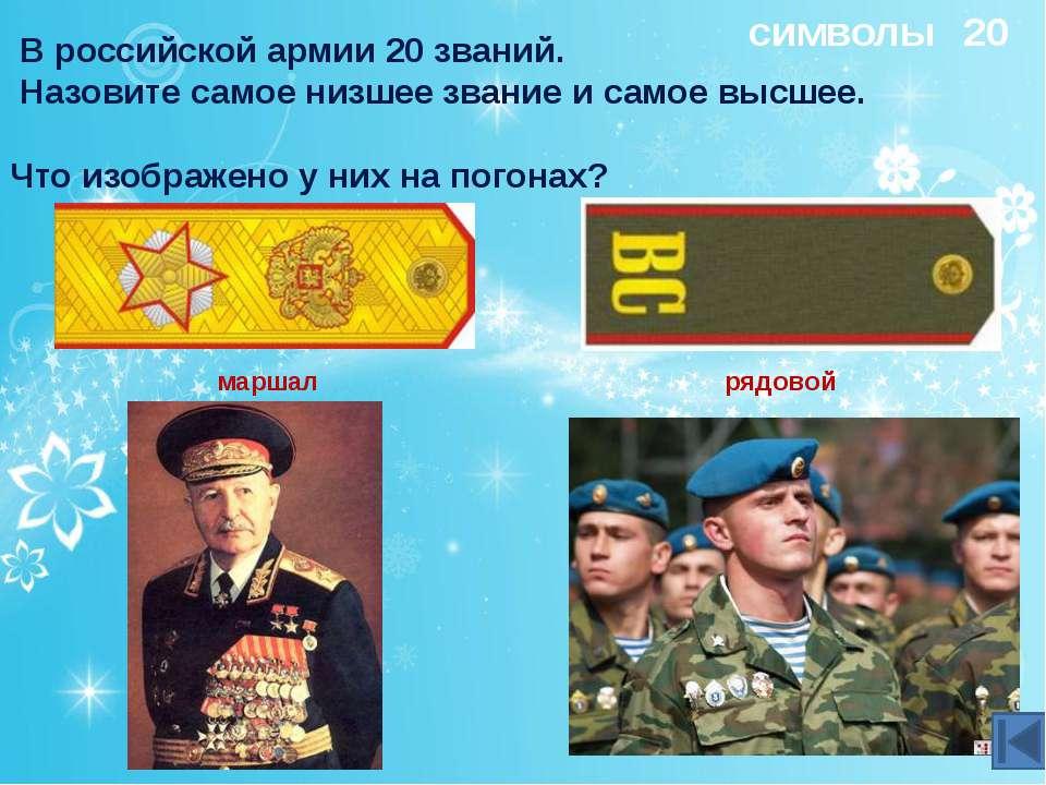 20 Награды Кто и за что награждался этими орденами? Этими («полководческими»)...