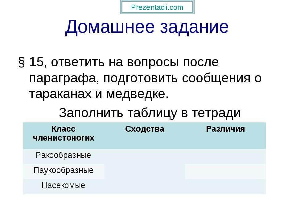 Домашнее задание § 15, ответить на вопросы после параграфа, подготовить сообщ...
