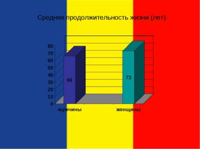 Средняя продолжительность жизни (лет)