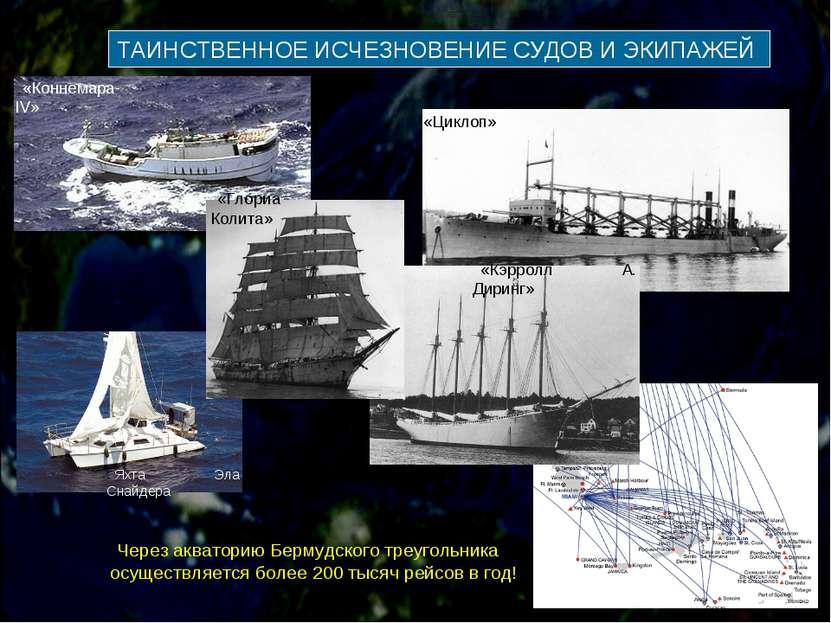 ТАИНСТВЕННОЕ ИСЧЕЗНОВЕНИЕ СУДОВ И ЭКИПАЖЕЙ «Циклоп» Яхта Эла Снайдера «Коннем...