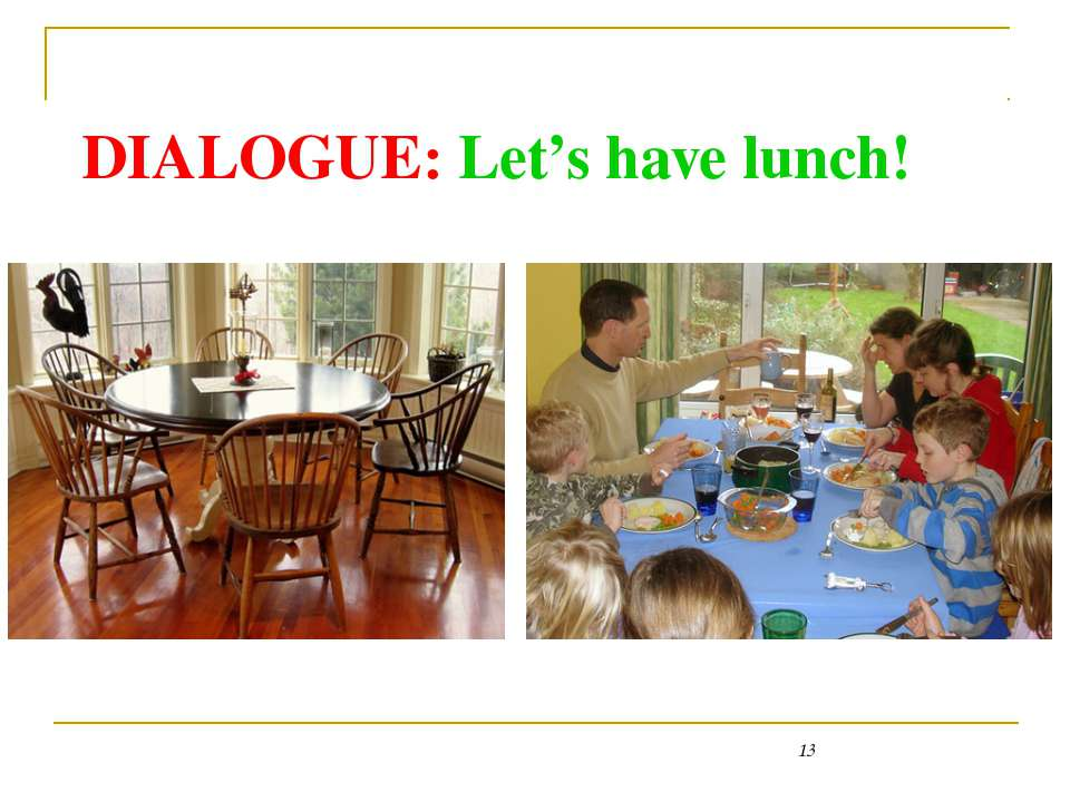 DIALOGUE: Let's have lunch! Kitchen table - http://styleandinterior.ru/wp-con...