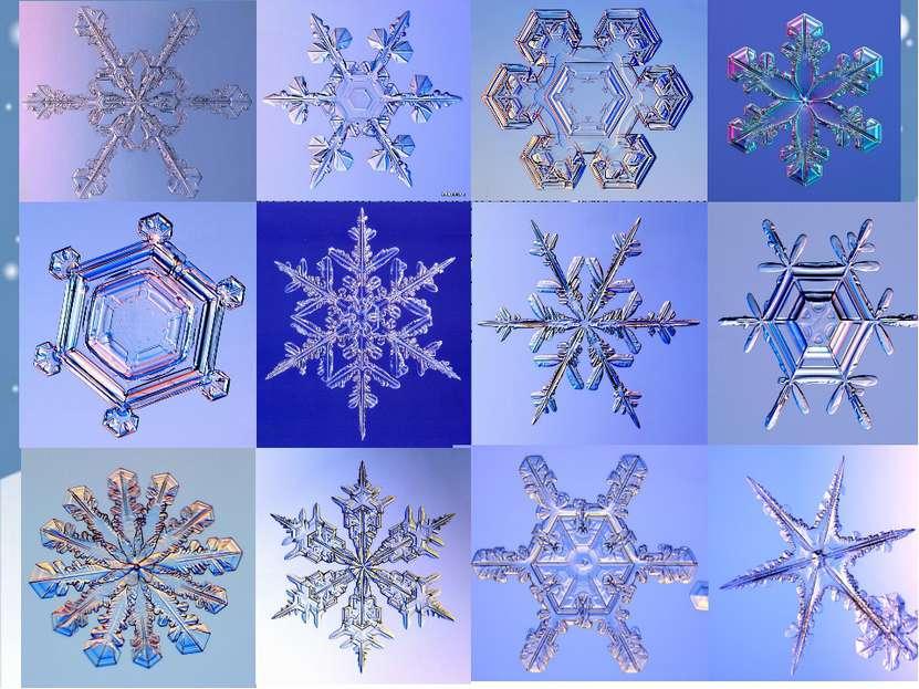 Снег-это мельчайшие кристаллики льда, которые образовались из водяного пара. ...