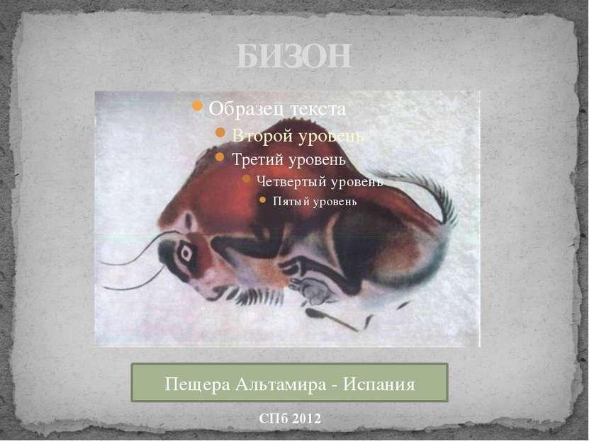 БИЗОН СПб 2012 Пещера Альтамира - Испания