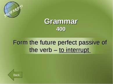 Grammar 400 Back