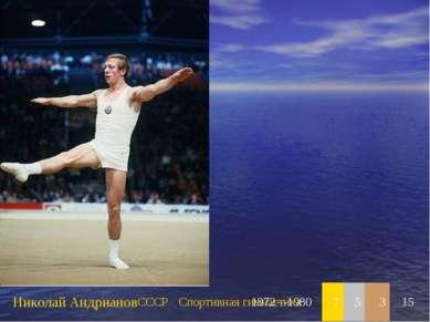 Николай Андрианов СССР Спортивная гимнастика 1972—1980 7 5 3 15