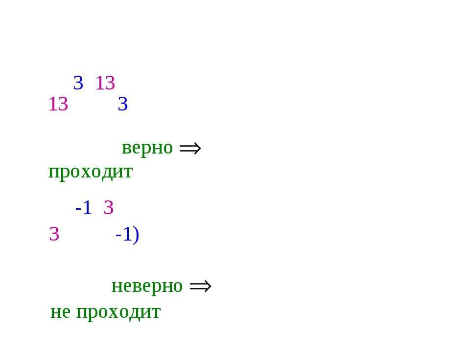 Выяснить, проходит ли график функции у = 5х - 2 через точки А(3; 13), В(-1; 3...