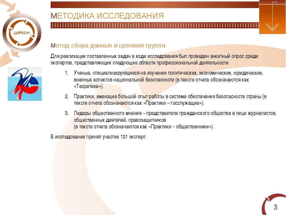 * МЕТОДИКА ИССЛЕДОВАНИЯ Метод сбора данных и целевая группа Для реализации по...