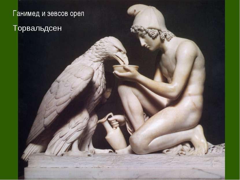 Ганимед и зевсов орел Торвальдсен