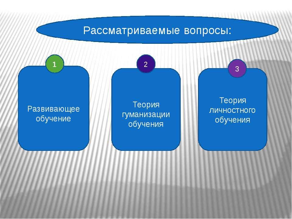 тема посвящена положения и теории современной концепции развивающего обучения Посетители Поисковые