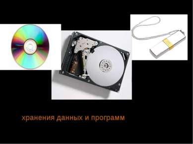 Современная «дисковая память» Память компьютера необходима для хранения данны...