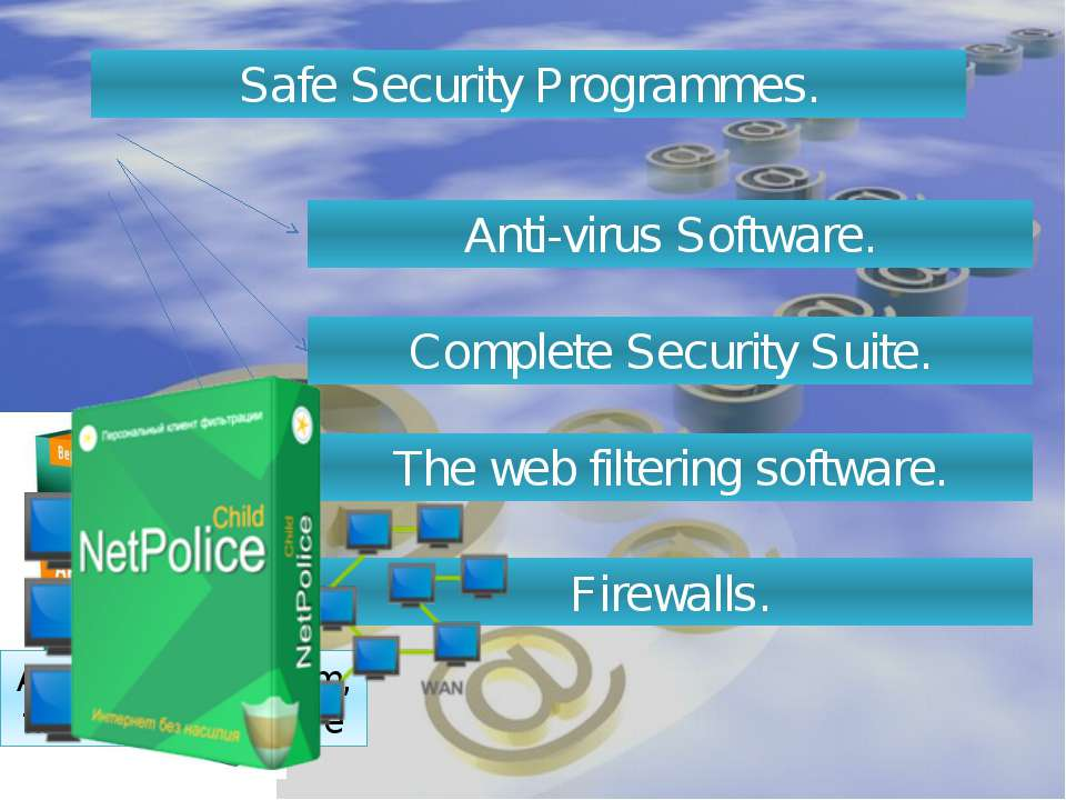 Safe Security Programmes. Anti-virus Software. Complete Security Suite. The w...