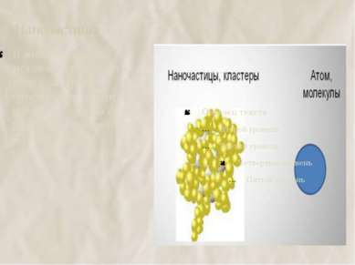 Наночастицы В живых организмах металлы существуют в виде кластеров- объединен...