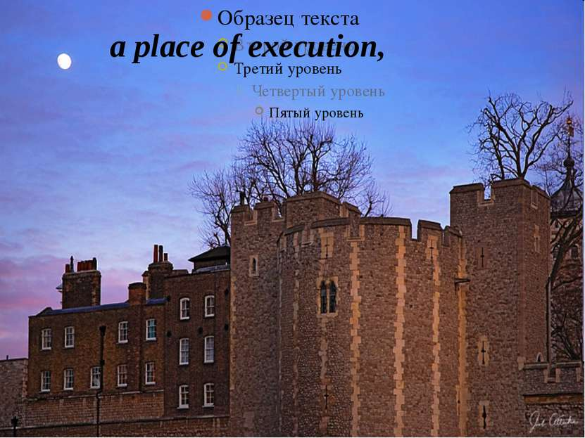 a place of execution,