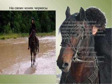На своих конях черкесы совершали опаснейшие трюки, которые для человека сторо...