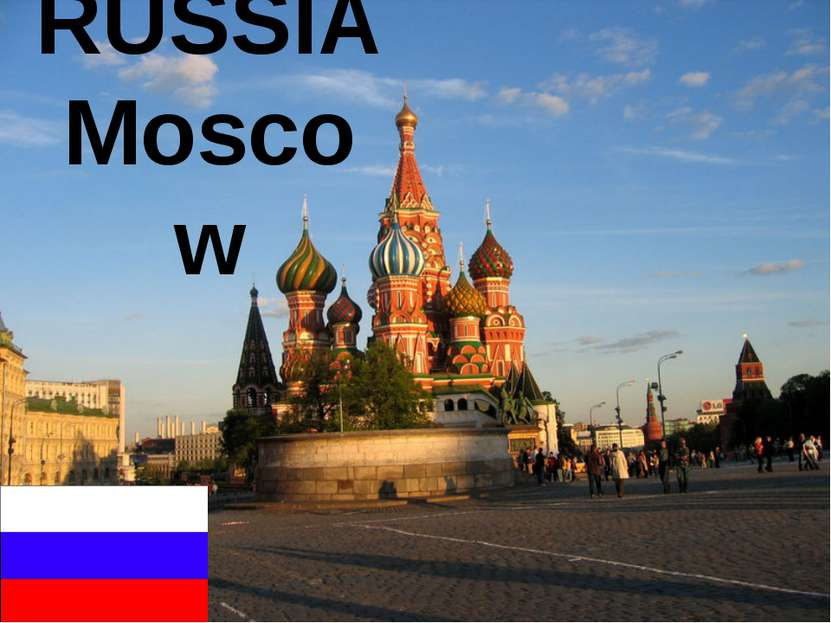 RUSSIA Moscow