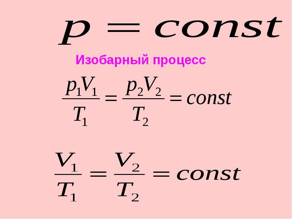 Для данной массы данного вещества, отношение объема газа к его температуре по...