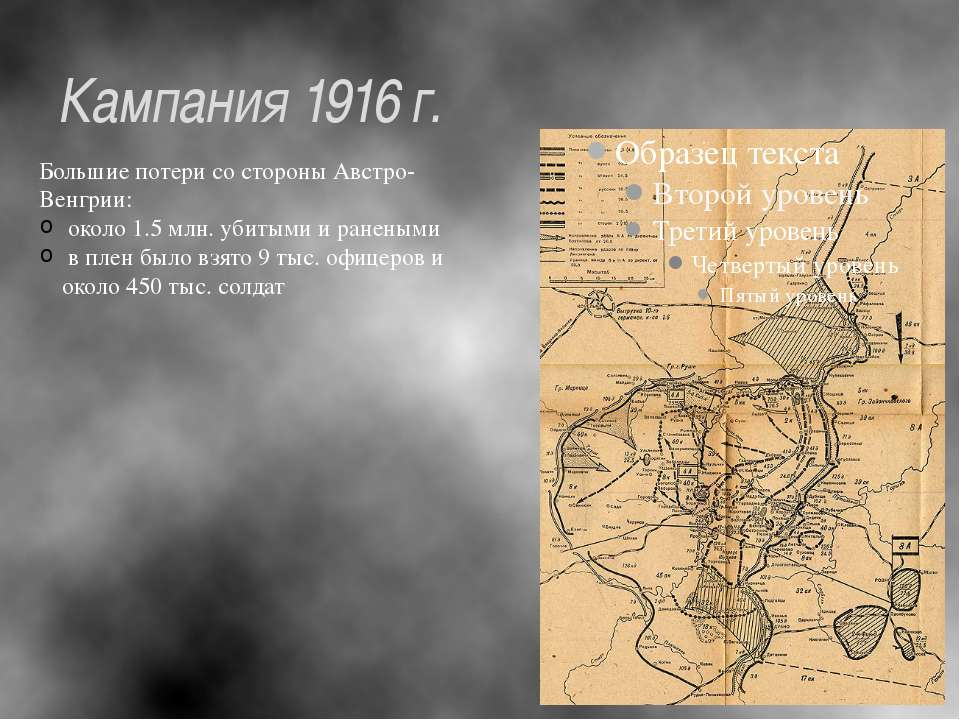 Кампания 1916 г.