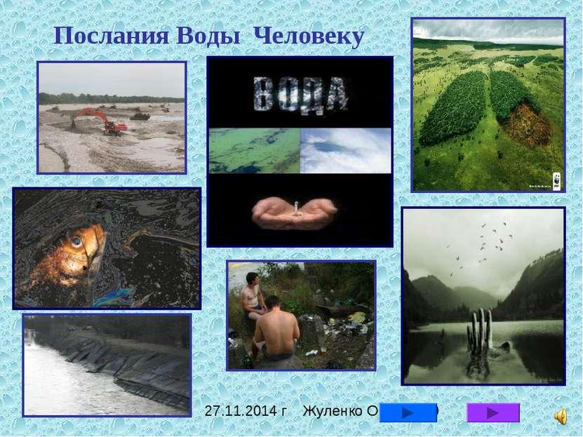 Послания Воды Человеку 27.11.2014 г Жуленко О.А.