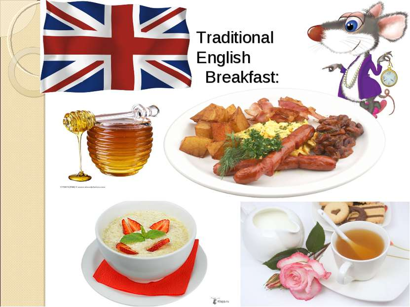 Traditional English Breakfast: