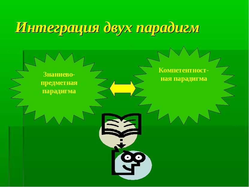 Интеграция двух парадигм
