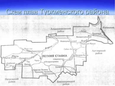 Схем план Туркменского района