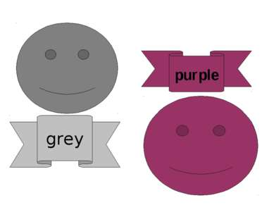 purple grey