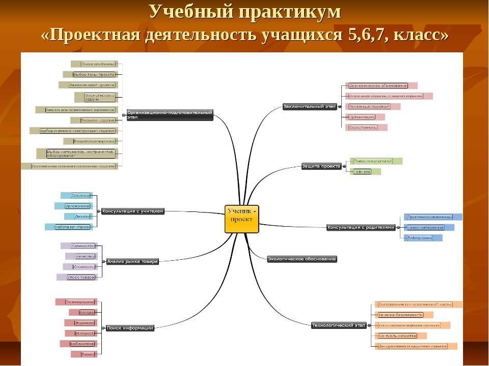 Учебный практикум «Проектная деятельность учащихся 5,6,7, класс»