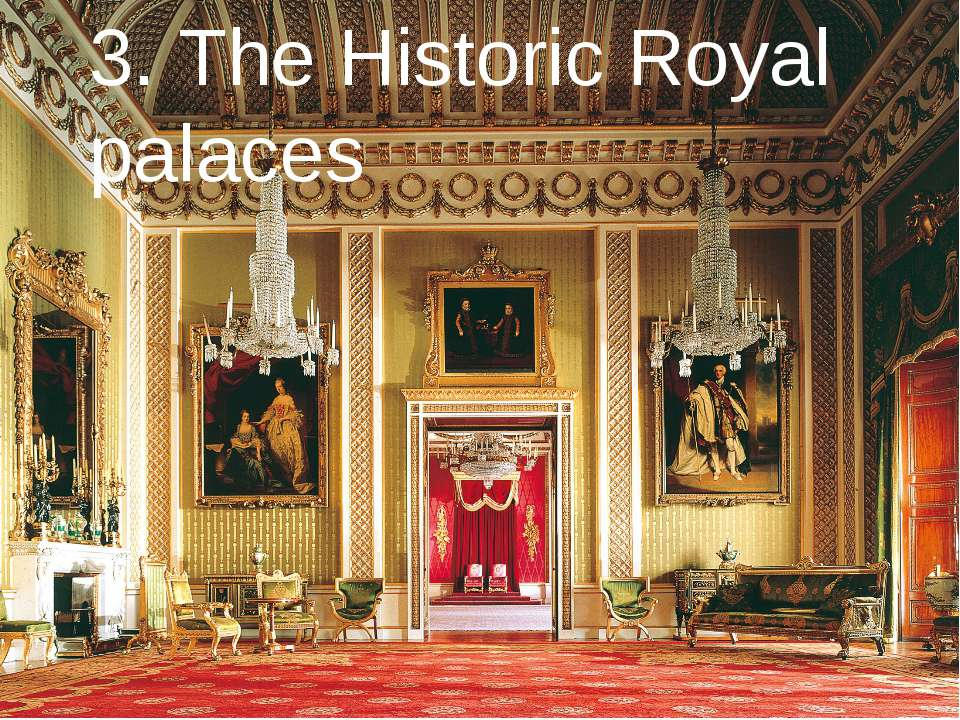 3. The Historic Royal palaces