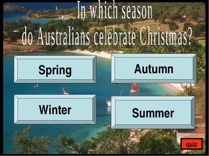 Spring Autumn Winter Summer quiz