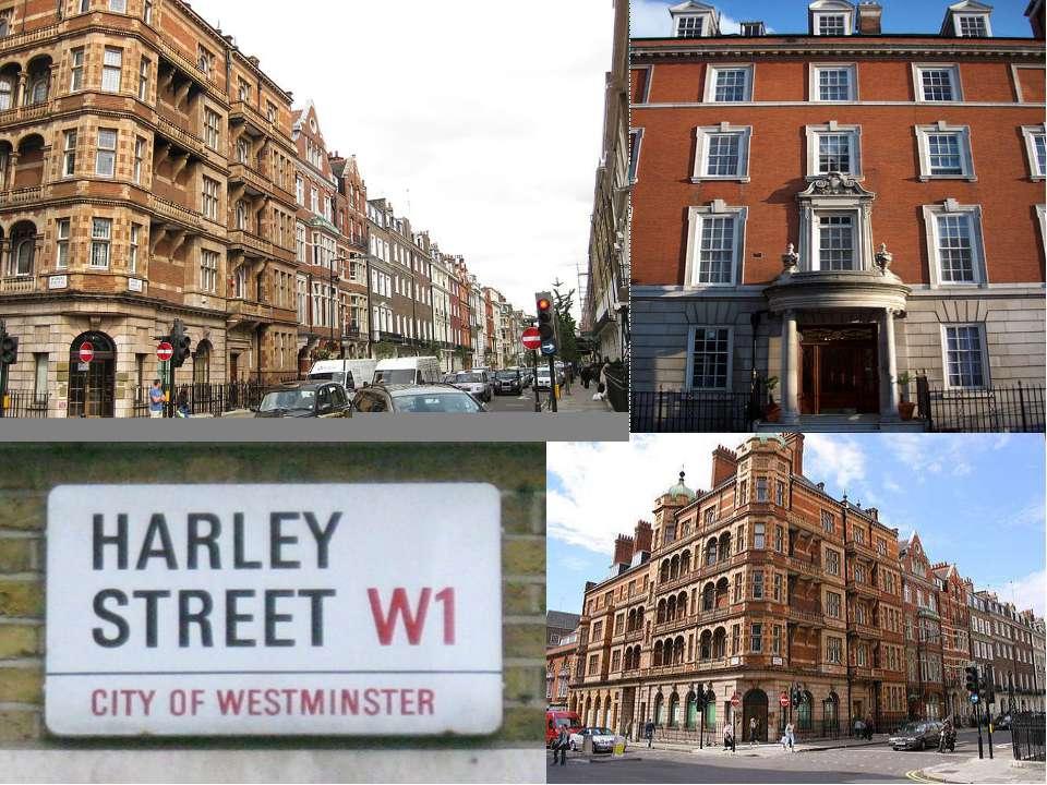 Ха рли-стрит (англ. Harley Street). Ha rli Street (English Harley Street) — t...