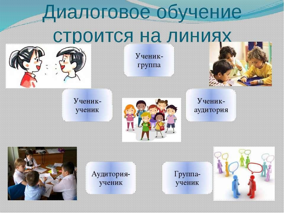 Диалоговое обучение строится на линиях