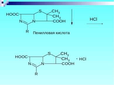 Пенилловая кислота HCl