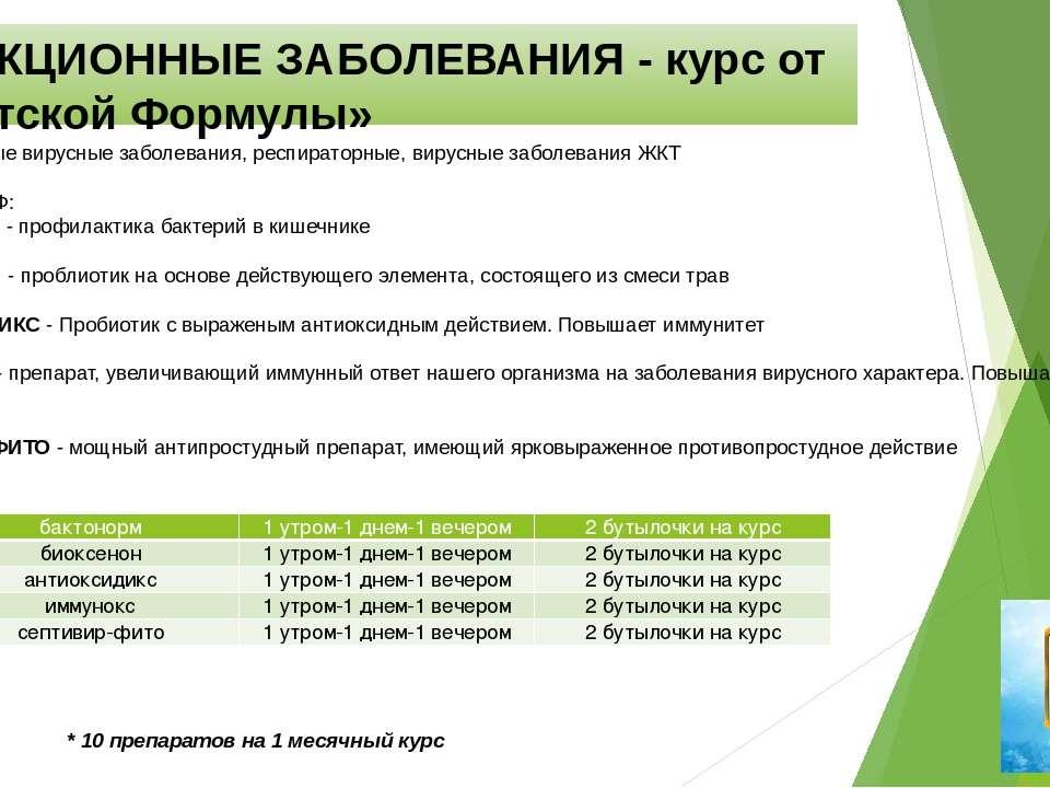 ИНФЕКЦИОННЫЕ ЗАБОЛЕВАНИЯ - курс от «Тибетской Формулы» Инфекционные вирусные ...