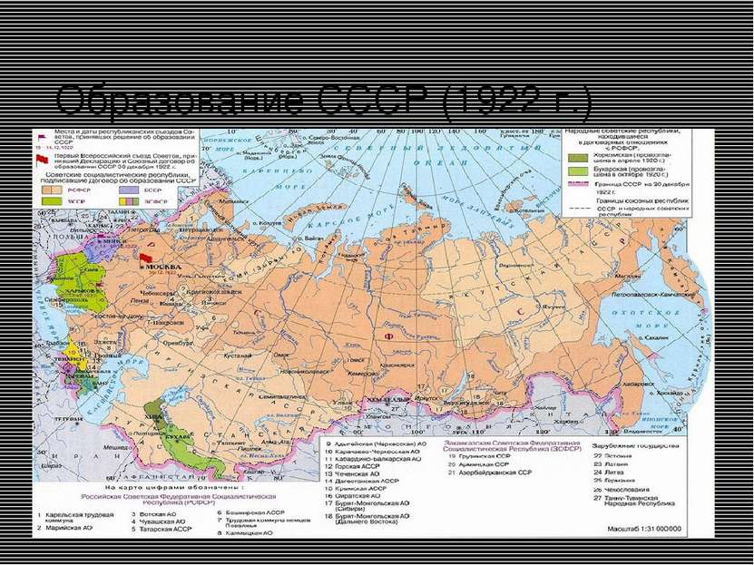 Образование СССР (1922 г.)
