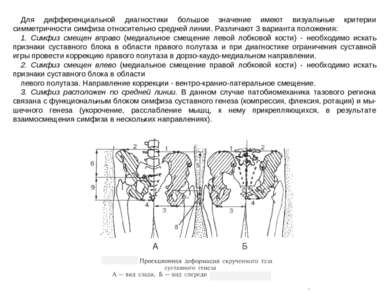 Для дифференциальной диагностики большое значение имеют визуальные критерии с...