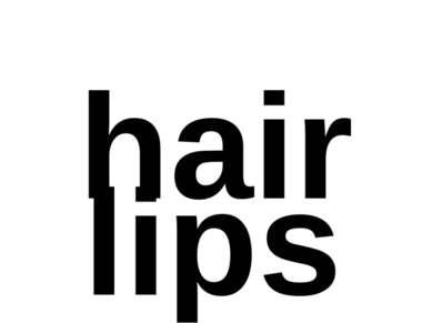 hair lips