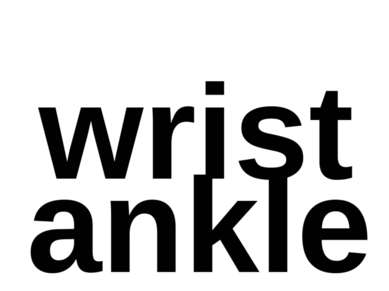 wrist ankle