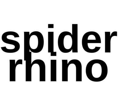 spider rhino
