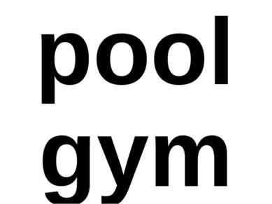 pool gym
