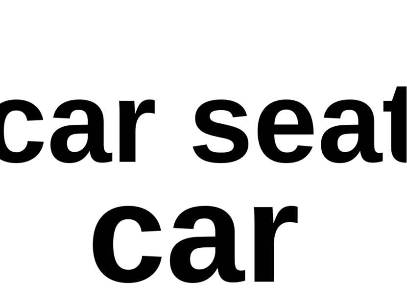 car seat car