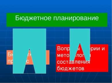 Полномочия законодательных органов власти Рассмотрение и утверждение бюджетов...