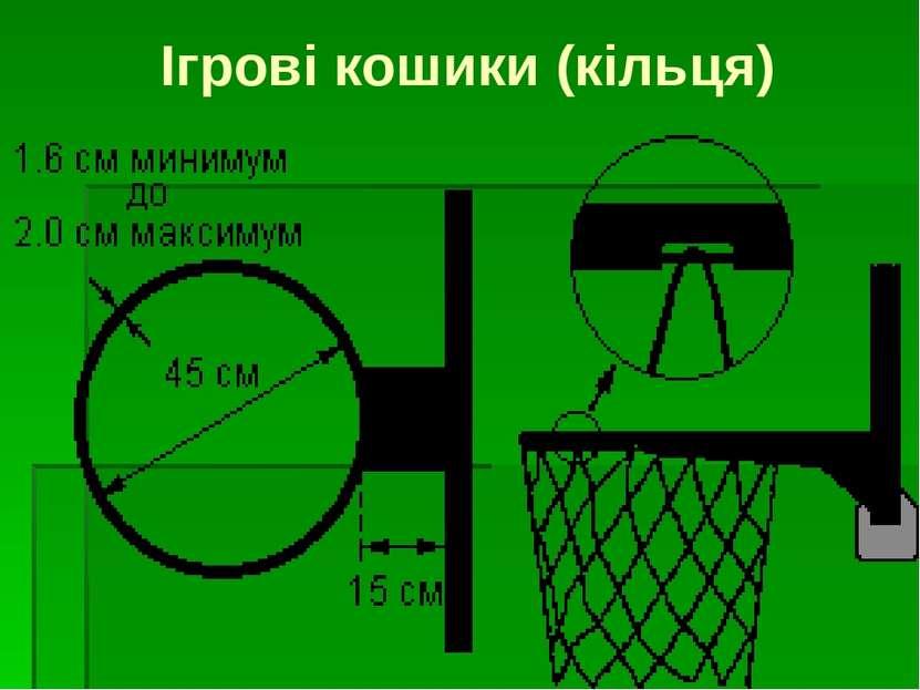 Ігрові кошики (кільця)