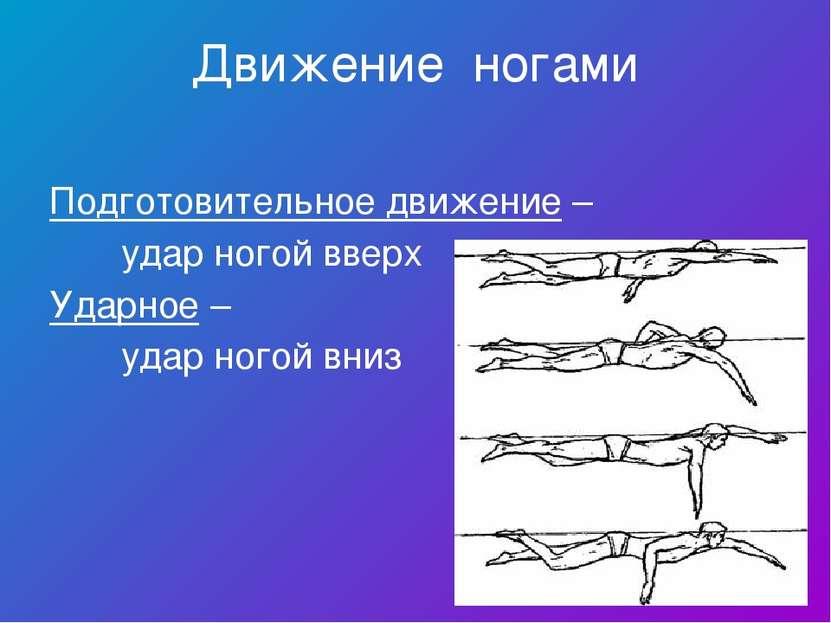 Движение ногами Подготовительное движение – удар ногой вверх Ударное – удар н...