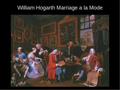 William Hogarth Marriage a la Mode