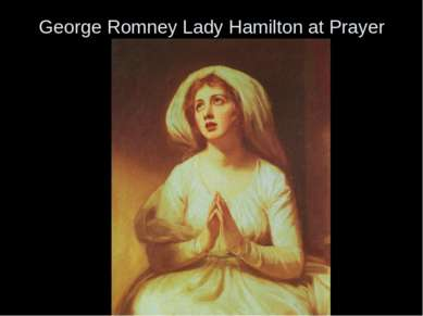 George Romney Lady Hamilton at Prayer