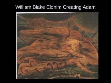 William Blake Elonim Creating Adam